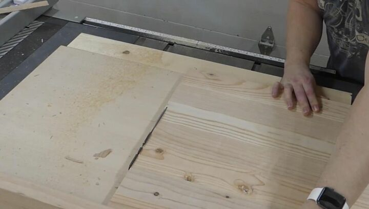 Cut Plywood for Sides