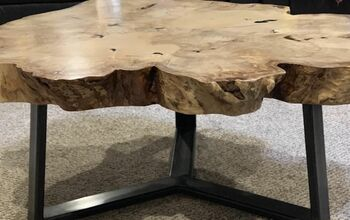 DIY Maple and Metal Table