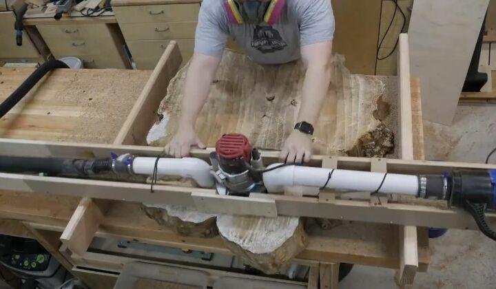 Flatten Wood