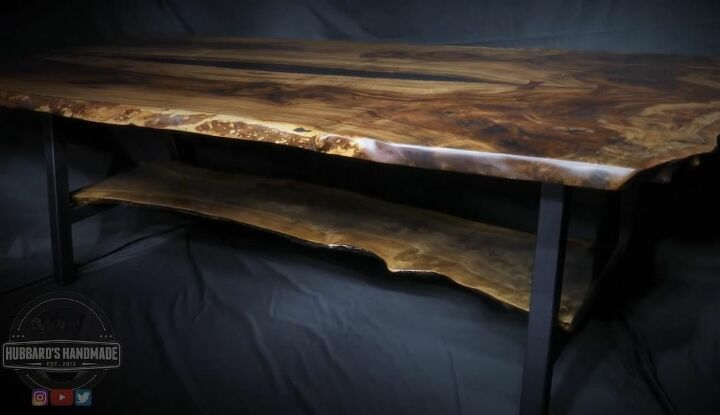 diy walnut table from heritage tree branches