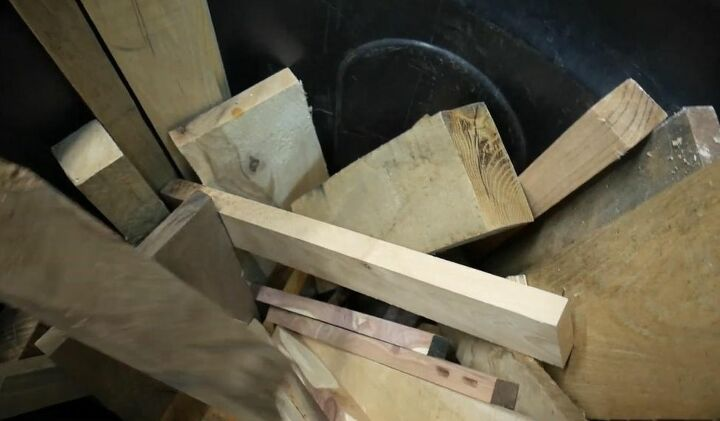 Gather Collection of Scrap Wood for Animals