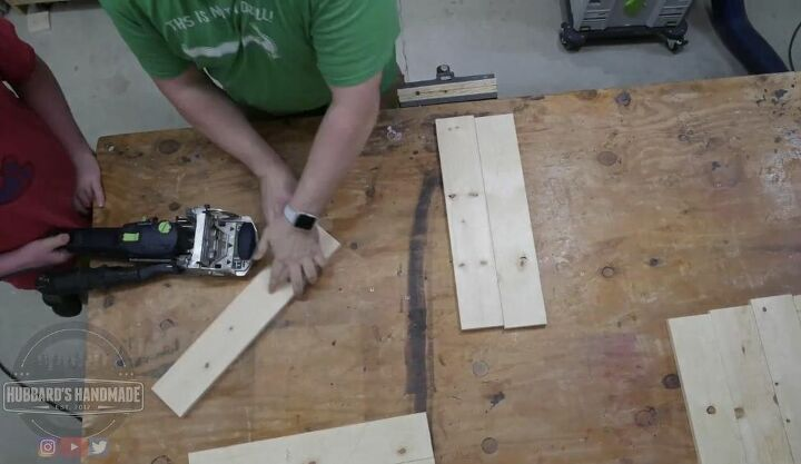 Use Domino Joiner to Create Panels for Sides of Kindling Box