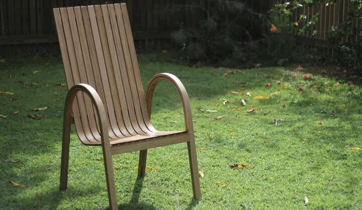 how to make a steam bent chair