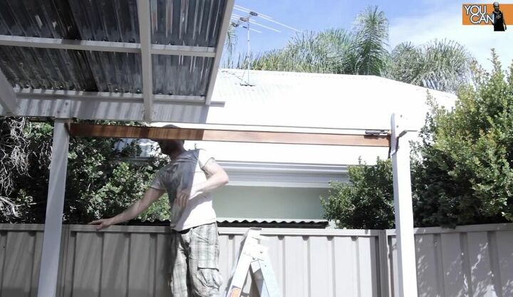 Attach Decking Boards to the Pergola