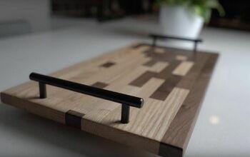 DIY Scrap Wood Mosaic Cutting Board