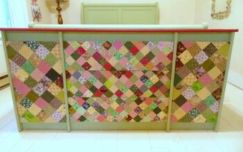 Decoupaged Dresser Makeover With Quilt Squares