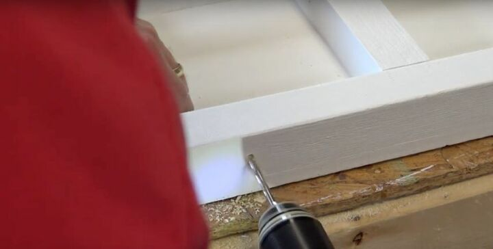 Drill a Hole for the Power Cord