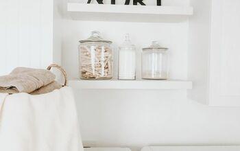 Samsung Inspired Laundry Room Makeover