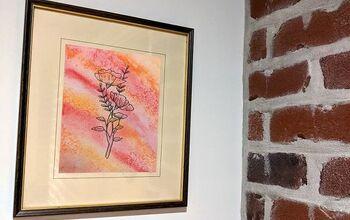 Watercolour & Salt Wall Decor
