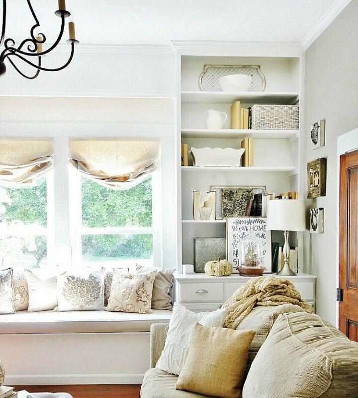 diy faux wood bookcase