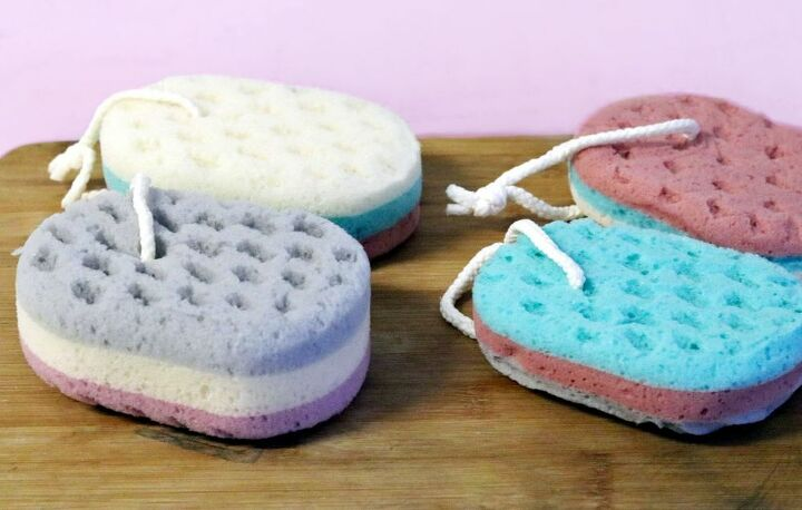 diy soap sponge eco friendly skin care to reduce plastic waste