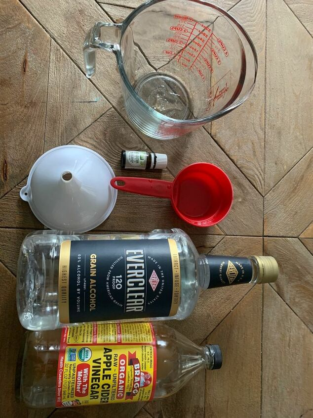 diy disinfectant spray with everclear and alcohol