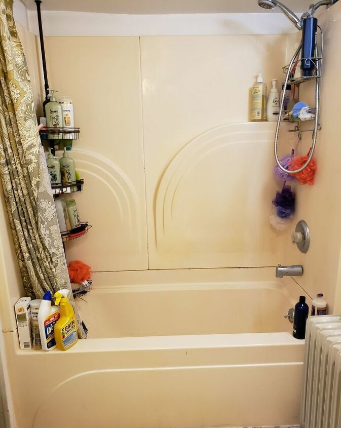 bathroom refresh shower storage spring2020refresh