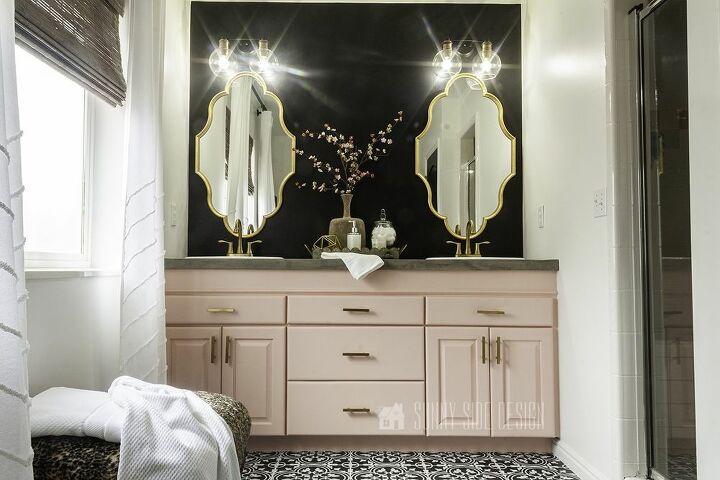 inexpensive master bathroom makeover