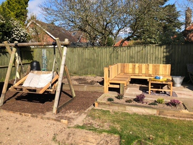 playground to sophisticated garden seating