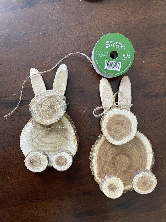 diy wood bunny