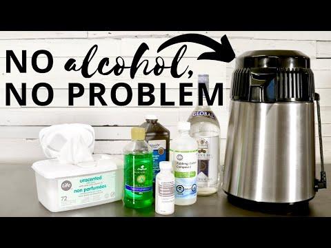 3 homemade hand sanitizer recipes rubbing alcohol alternatives