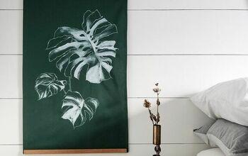 DIY Dishcloth Tapestry