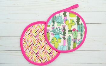 How to Sew a Circular Potholder
