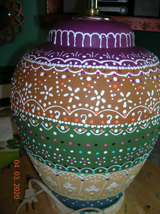 decorated lamps