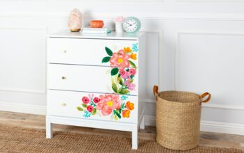 Transform Your Home - DIY Floral Painting Techniques