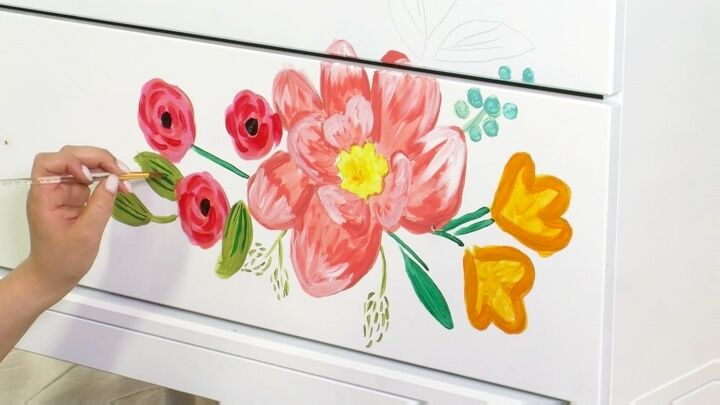 transform your home diy floral painting techniques