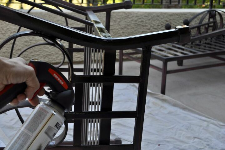 refinishing your patio furniture