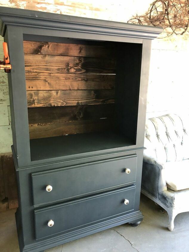 transformed armoire