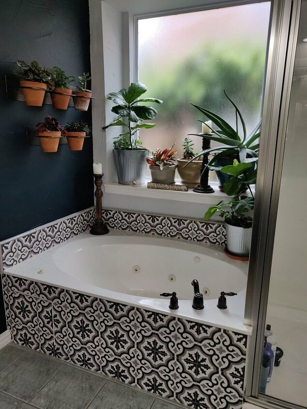 budget bathroom makeover with a wow factor