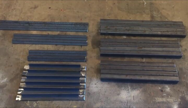 Cut Steel for Table Tops