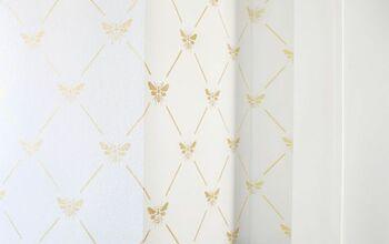 Farmhouse Bathroom Transformation With Stencil Revolution