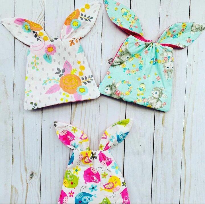 easter bunny mini bags