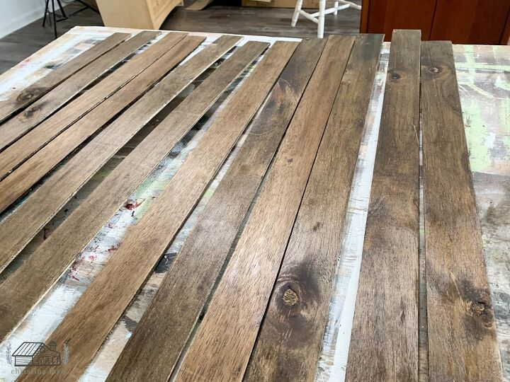Stained Planks