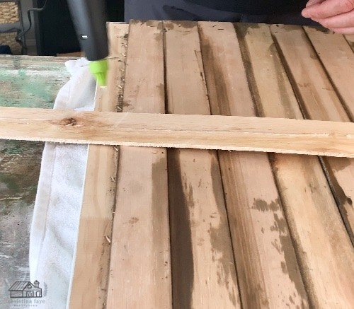 Adding Strip to Back of Planks
