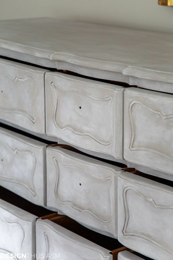 vintage french painted dresser