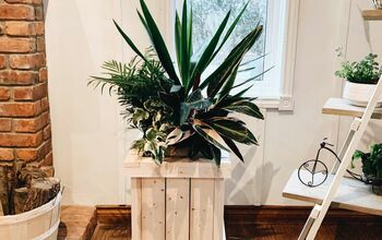 Wood Porch Pot Planter Box