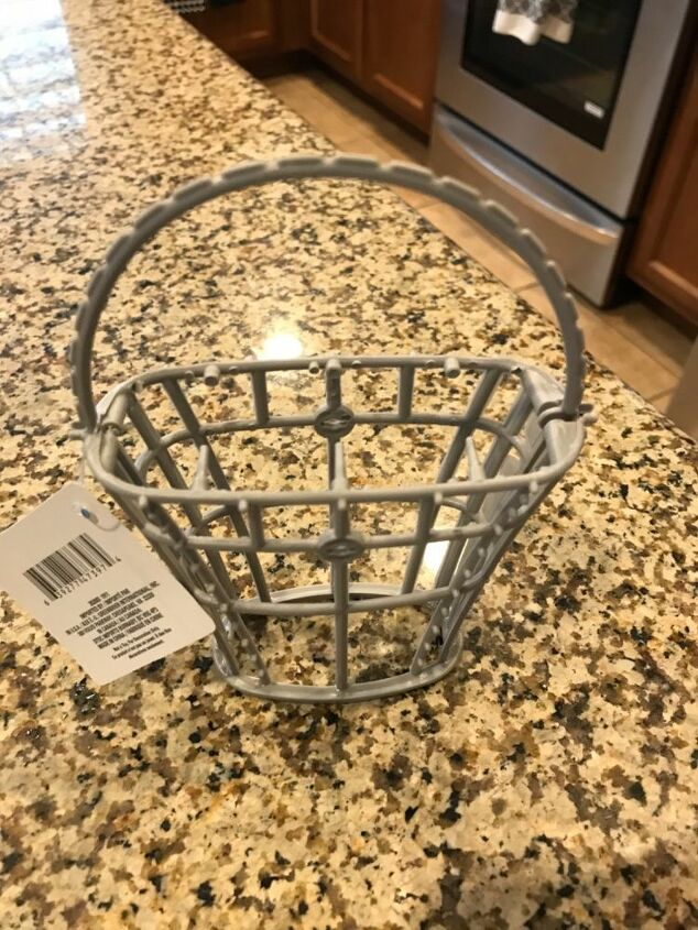dollar store easter basket redo