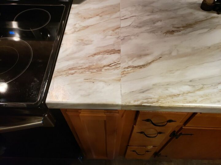 q how do i blend one counter with the other counter