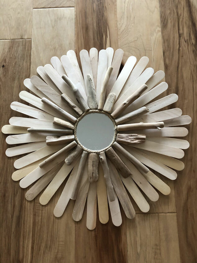 diy sunburst mirrors