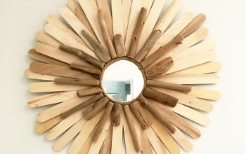 DIY Sunburst Mirrors