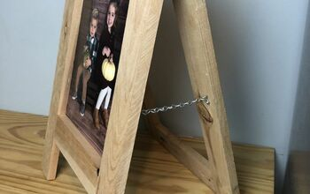 Sandwich Board Style Picture Frame