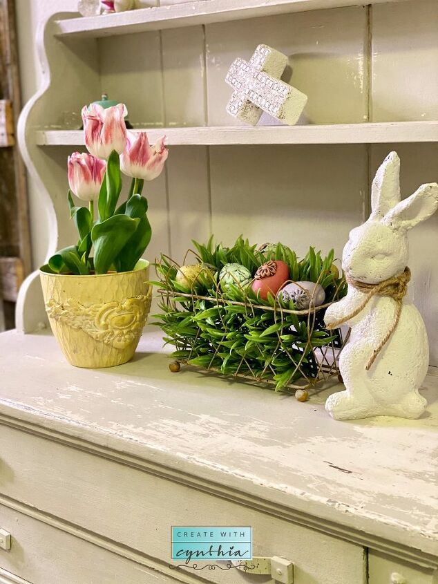diy easter eggs with clay and moulds