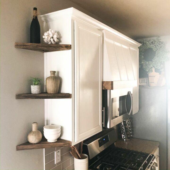 How To Build Diy Corner Shelves Hometalk