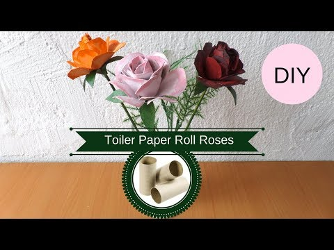 s 13 diy crafts for all of those toilet paper tubes you re stockpiling, Create decorative roses from toilet paper roles