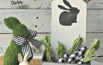 Cutting Board Easter/Spring Farmhouse Decor Project