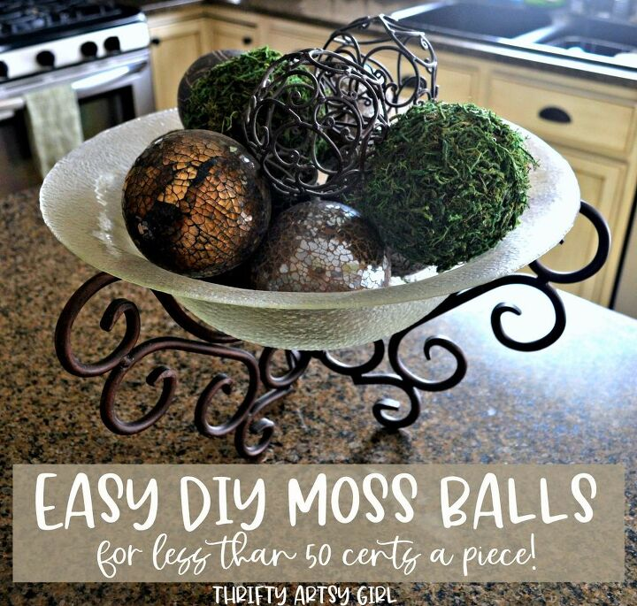 diy moss balls for less than 1