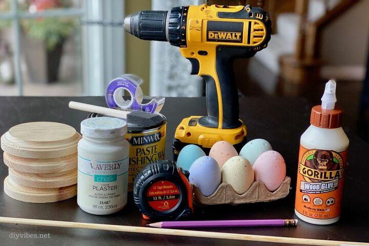 diy easter egg candle holders