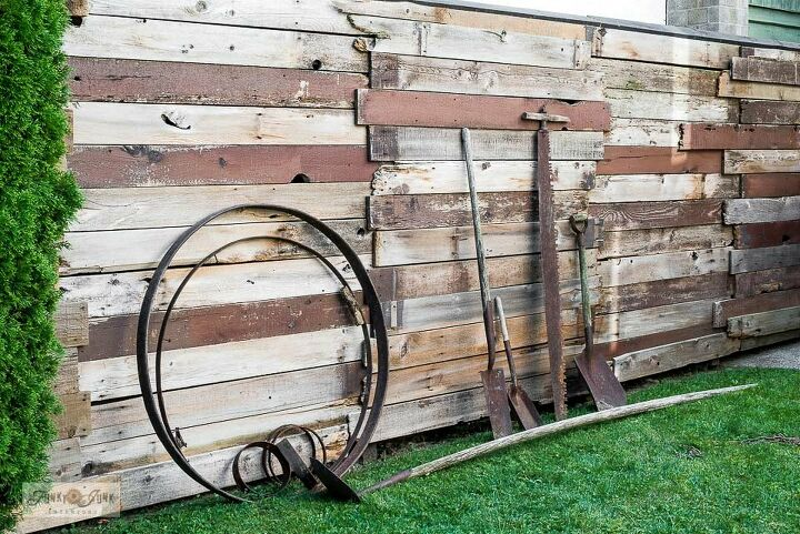 how to build a new fence with old reclaimed wood