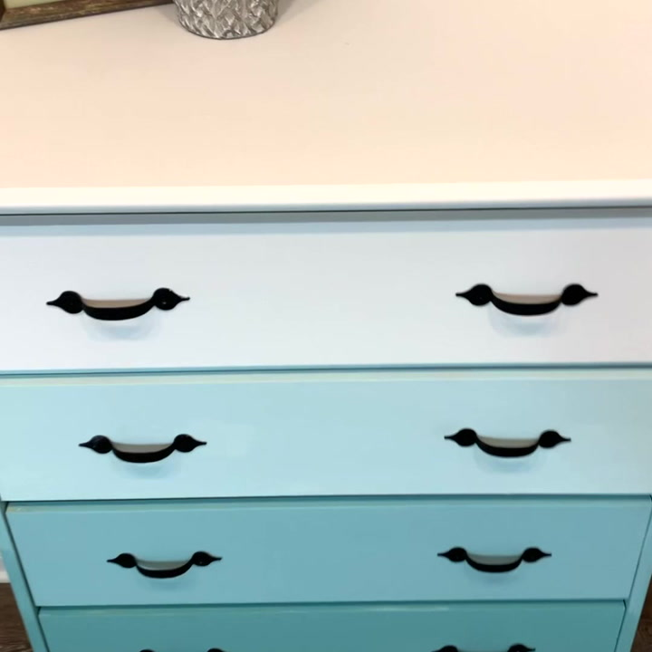 s 11 ways to upgrade your bedroom on a budget, Ombre Painted Dresser