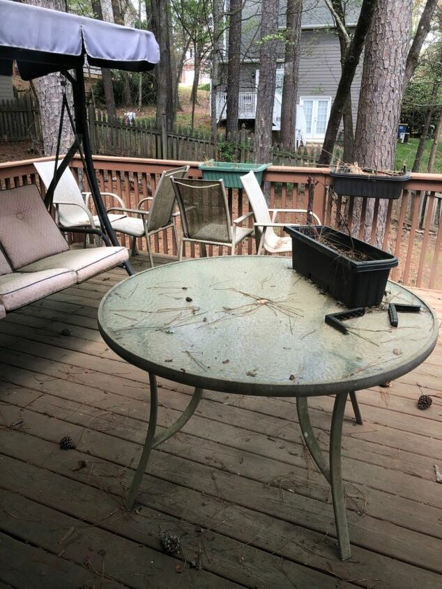 Upcycling Old Patio Furniture Hometalk